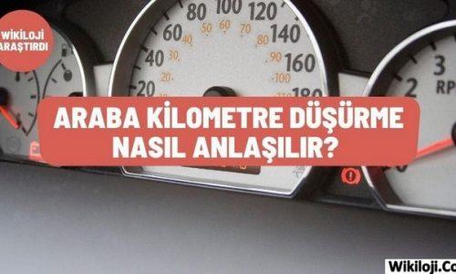 Araba Kilometre Düşürme Nasıl Anlaşılır? 3 Yöntem