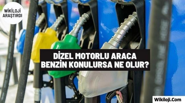 Dizel Motorlu Araca Benzin Konulursa Ne Olur ?