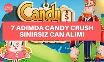 Adım Adım Candy Crush Sınırsız Can Alımı