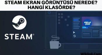 Steam Ekran Görüntüsü Nerede? Hangi Klasörde?