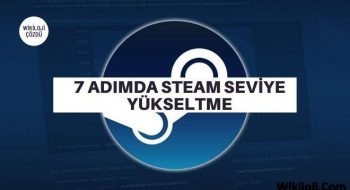 7 Adımda Steam Seviye Yükseltme