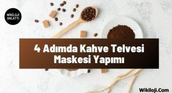 4 Adımda Kahve Telvesi Maskesi Yapımı