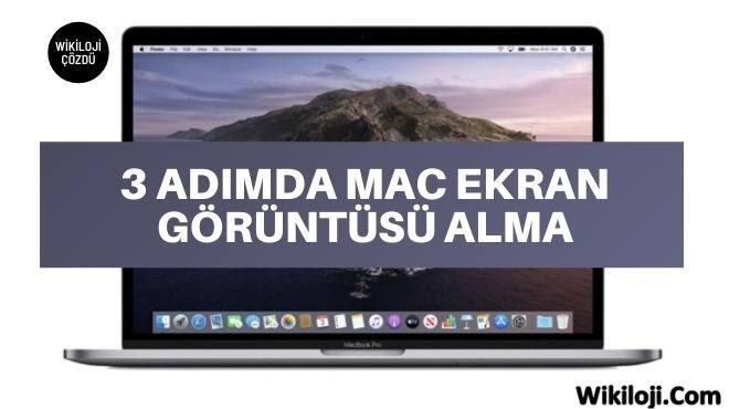 Apple Mac Ekran Görüntüsü Alma, Video Kaydetme Nasıl Yapılır