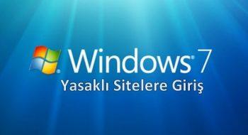 Yasaklı Sitelere Giriş Dns Ayarları Windows 7